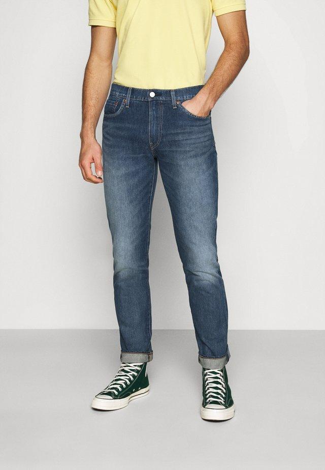 511™ SLIM  - Jean droit - dark indigo - worn in