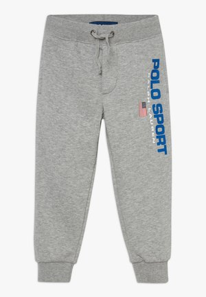 PANT BOTTOMS  - Tracksuit bottoms - andover heather