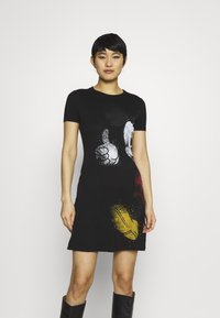 Desigual - MICKEY - Jersey dress - black - 0