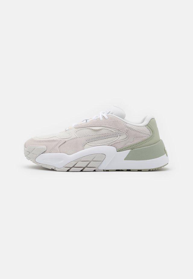 HEDRA MINIMAL - Sneakers laag - nimbus cloud/desert sage/white