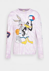 Tommy Jeans - ABO TJU X SPACE JAM TEE UNISEX - Long sleeved top - lilac dawn - 4