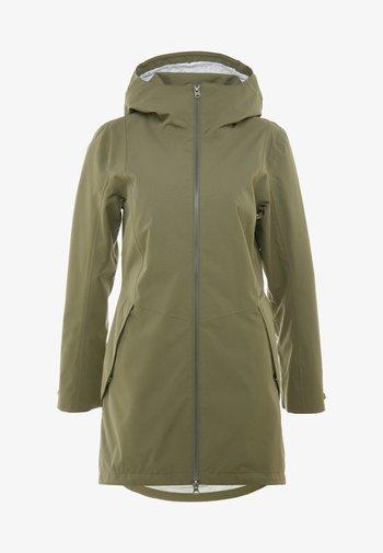 FOLKA WOMEN'S - Waterproof jacket - dusty olive