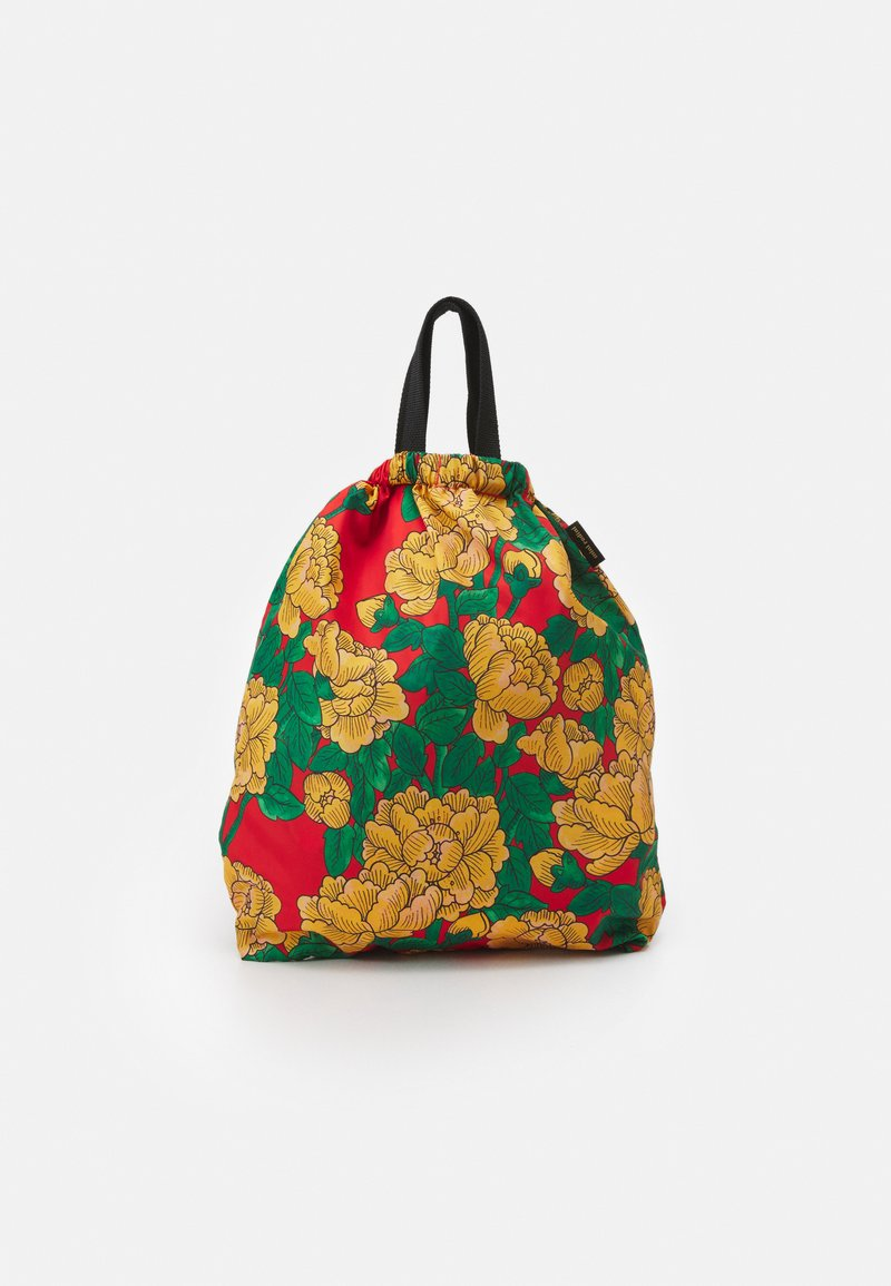 Mini Rodini - PEONIES DRAWSTRING BAG - Rucksack - red