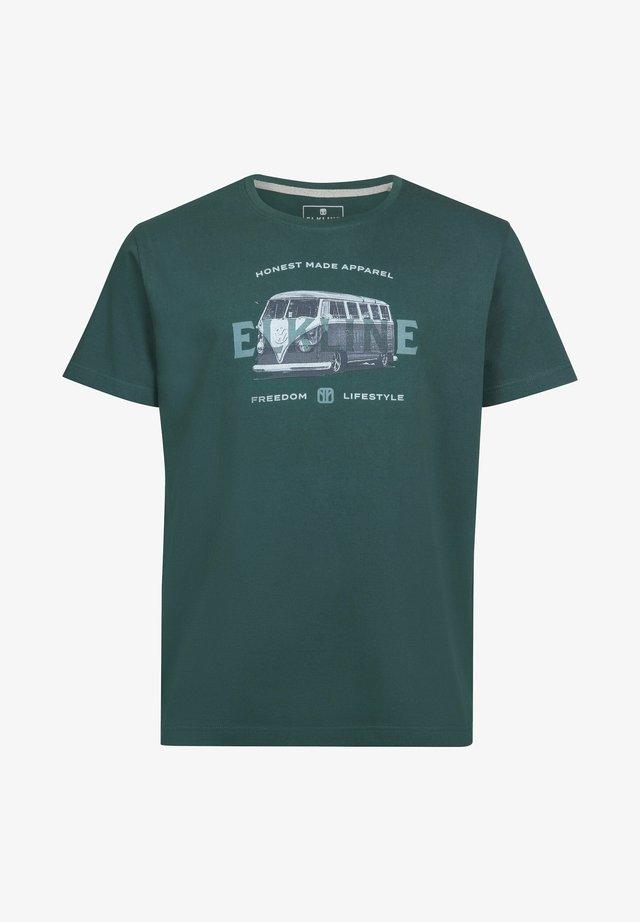HONEST VW  - Print T-shirt - trekking green