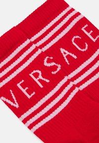 Versace - SOCKS - Socks - rosso/bianco - 1
