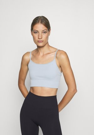 YOGA BRA - Sport BH - blue dusty light
