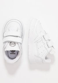 adidas Originals - SUPERCOURT CF - Trainers - footwear white/core black - 0