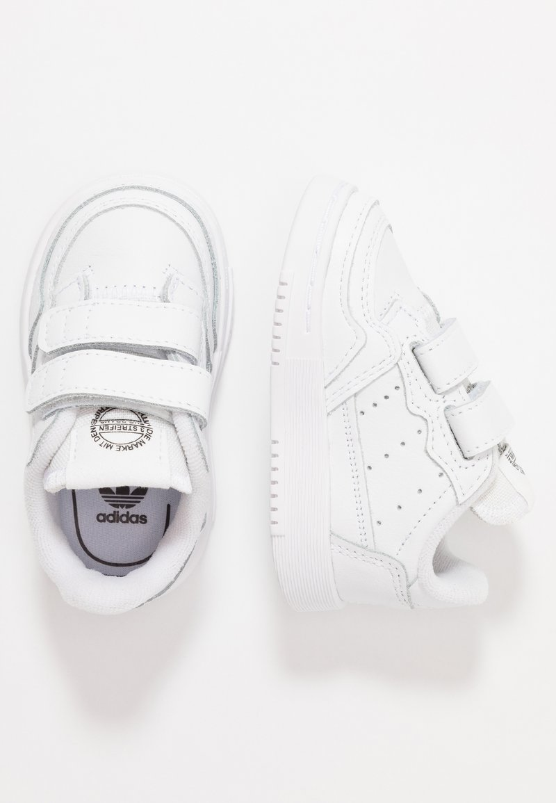 adidas Originals - SUPERCOURT CF - Trainers - footwear white/core black