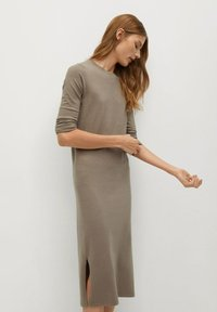 Mango - SOFA-A - Jumper dress - beige - 4