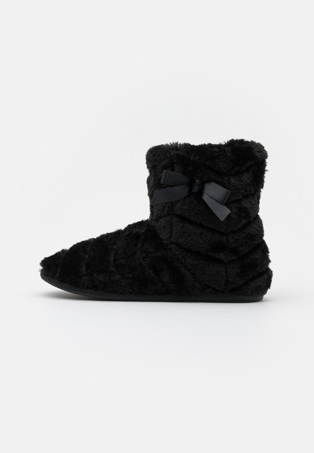 VMBENA BOOT - Tøfler - black