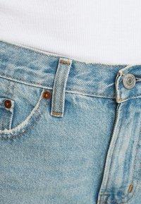 Abercrombie & Fitch - Denim shorts - blue denim - 4