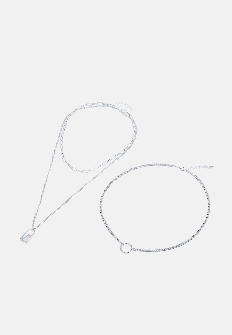 ONLY - ONLJILL NECKLACES 2 PACK - Necklace - silver-coloured