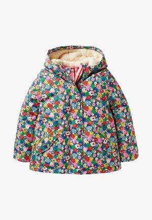 ANORAK MIT SHERPA-FUTTER - Winter jacket - bunt, blumen