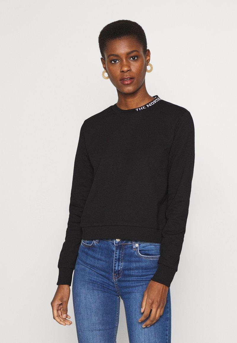 The North Face - ZUMU CREW - Sweatshirt - black