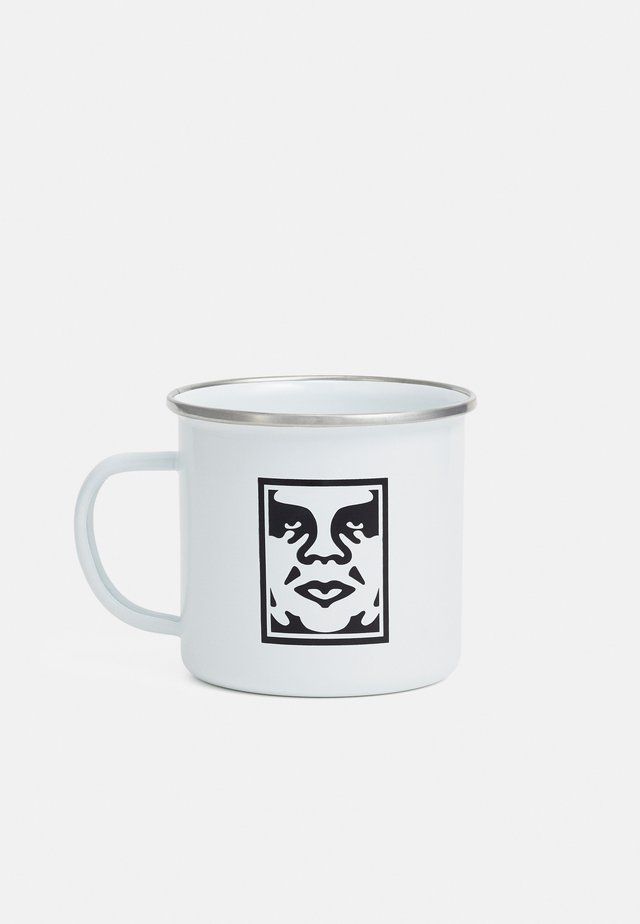 ICON STEEL MUG - Accessorio - white