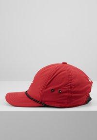 Nike Golf - AROBILL ROPE UNISEX - Cap - sierra red/anthracite/white - 4