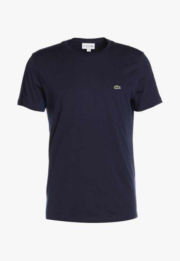 Lacoste T-shirt basic - navy blue/granatowy Odzież Męska MTNM