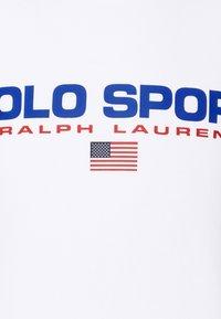 Polo Sport Ralph Lauren - LONG SLEEVE - Sweatshirt - white - 6