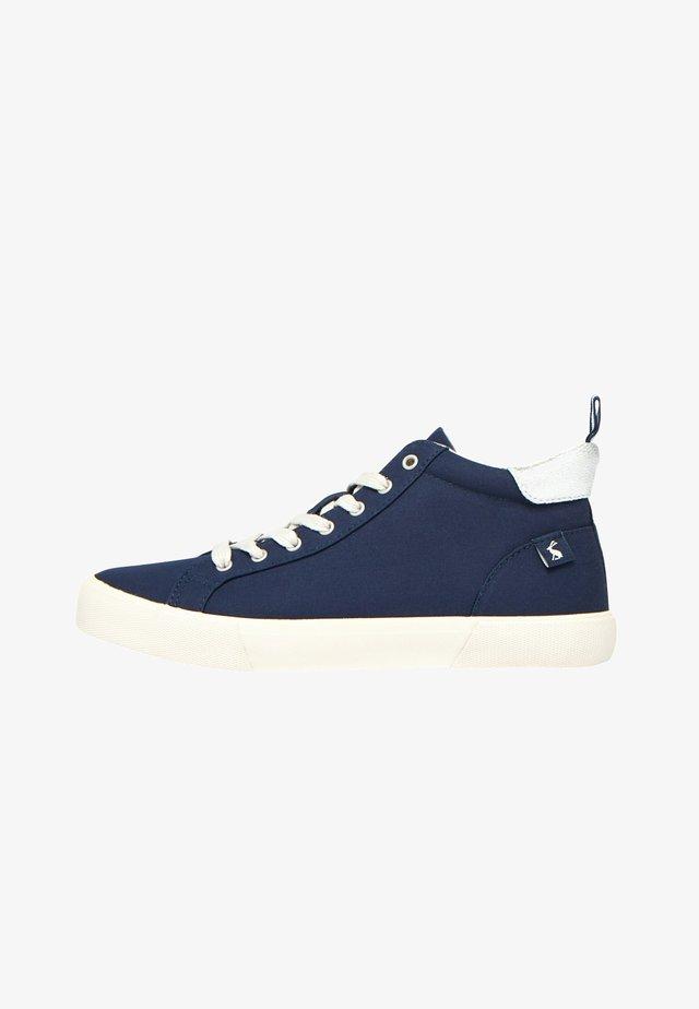 Baskets montantes - französisch marineblau