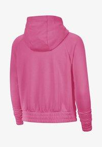 Zip-up sweatshirt - pinksicle/black