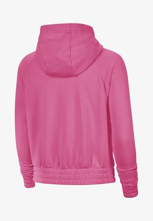 veste en sweat zippée - pinksicle/black