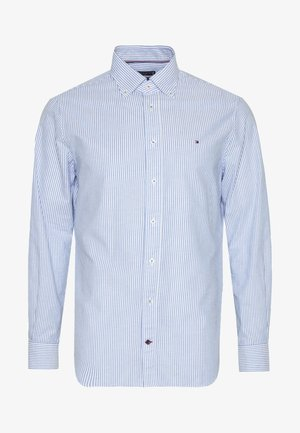 WASHED STRIPE BUTTON DOWN  - Chemise - blue