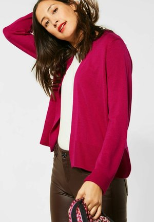 MIT LOCHMUSTER - Cardigan - pink