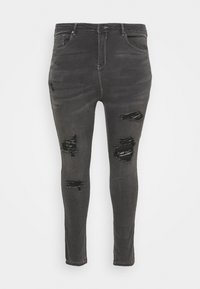 Simply Be - WASH SKINNY - Jeans Skinny Fit - grey - 5