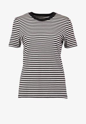 SFMY PERFECT TEE BOX CUT - Print T-shirt - black