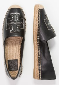 Tory Burch - INES - Espadrilky - perfect black/silver - 3
