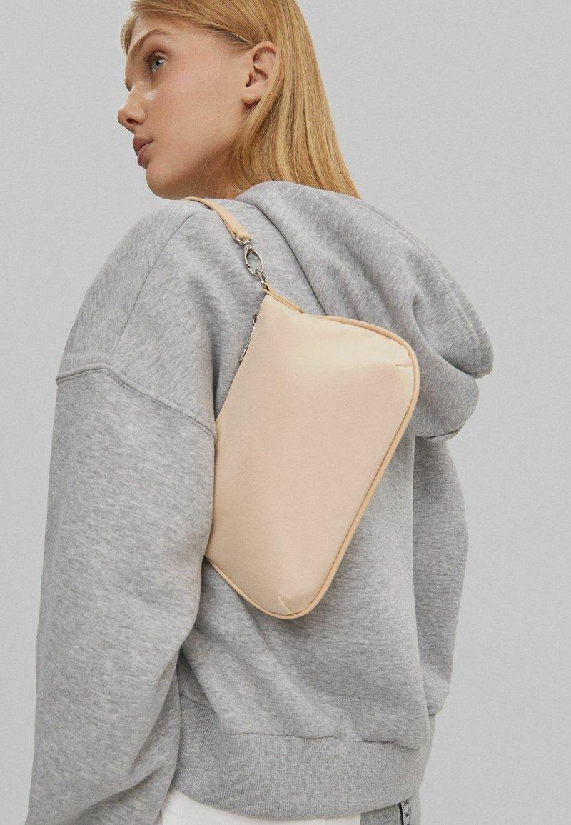 Bershka - Handbag - nude
