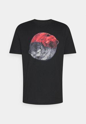 DICHARD - T-shirt z nadrukiem - black