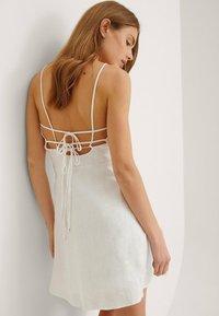 NA-KD - Cocktail dress / Party dress - white - 3