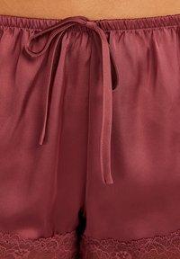 Hunkemöller - Pantaloni del pigiama - red - 2