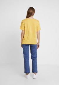 Even&Odd - Triko spotiskem - yellow - 2