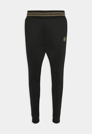ELEMENT MUSCLE FIT CUFF JOGGERS - Tracksuit bottoms - black/gold