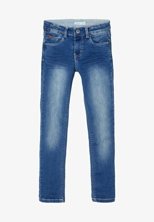SWEATDENIM X-SLIM FIT - Slim fit jeans - dark blue denim