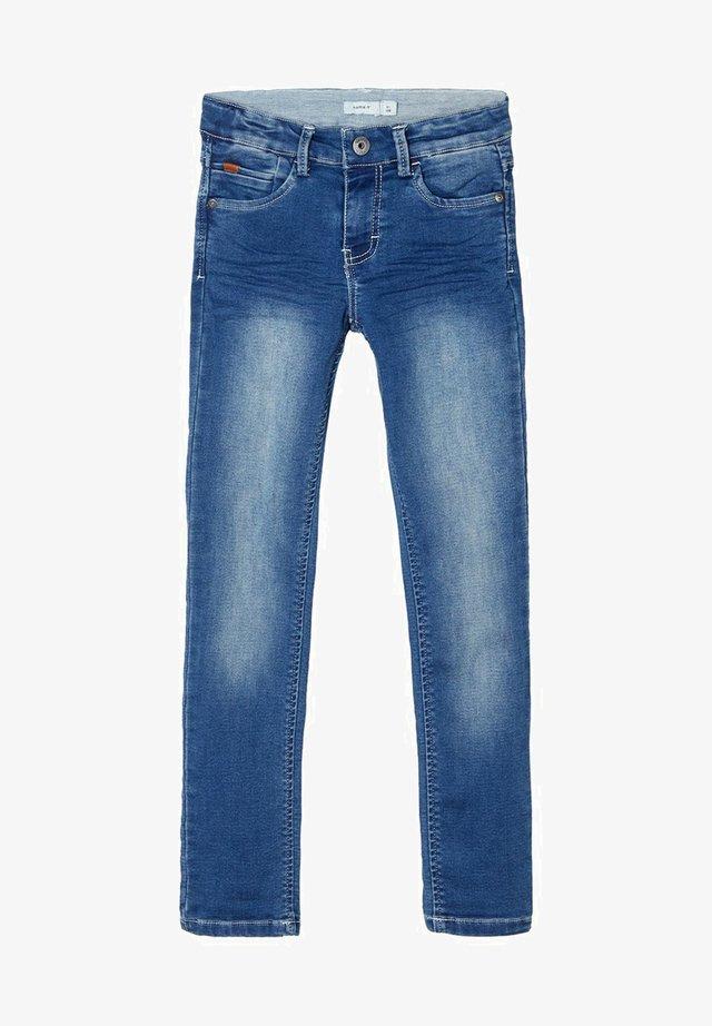 SWEATDENIM X-SLIM FIT - Slim fit jeans - dark blue denim
