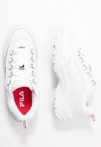 Fila - STRADA - Zapatillas - white - 3