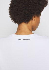 KARL LAGERFELD - CIRCLE LOGO - Sweatshirt - white - 5