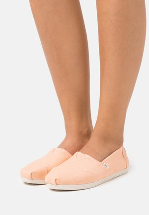 ALPARGATA VEGAN - Slip-ons - light orange