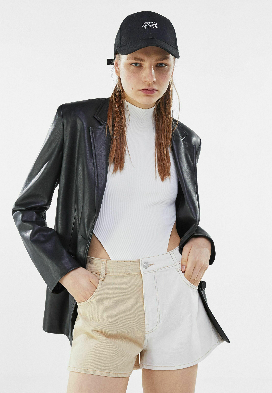 Donna MIT KONTRASTEN - Shorts di jeans