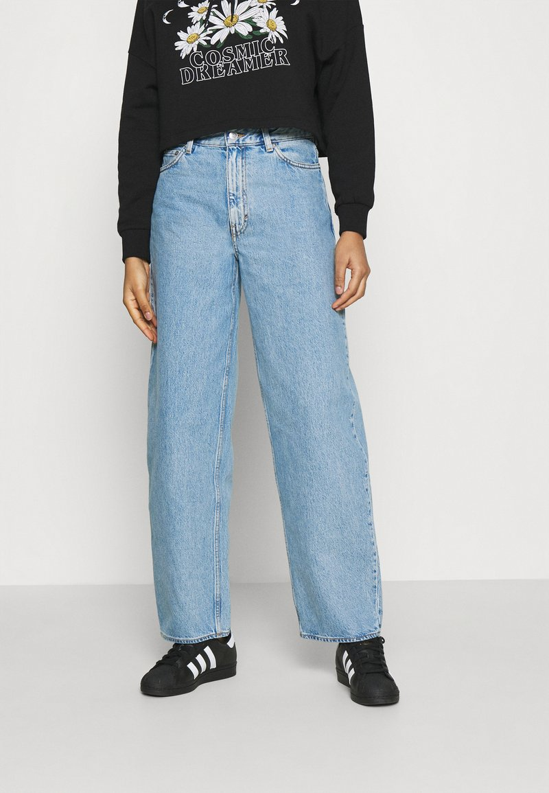 Weekday - RAIL  - Jeans relaxed fit - pen blue