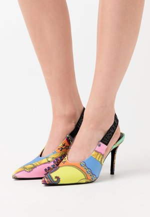 High heels - multicolor