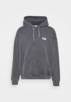 CORE OVERDYE HOODIE - Sweatshirt - grey