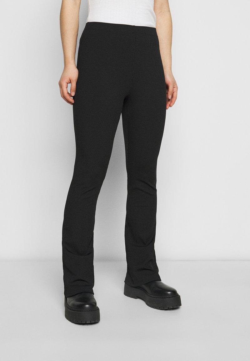 Topshop Petite - Trousers - black