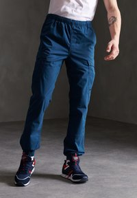 Superdry - Cargo trousers - bayside navy - 0