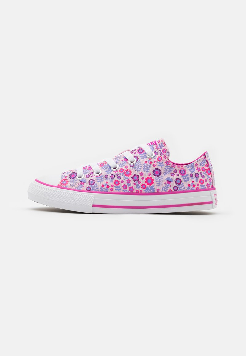 Converse - CHUCK TAYLOR ALL STAR FLORAL - Trainers - pink/active fuchsia/white