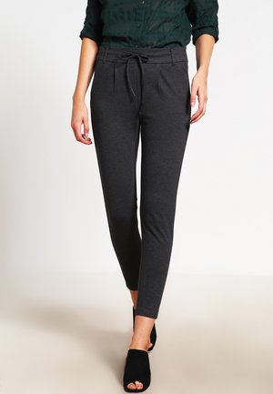 POPTRASH EASY COLOUR  - Tracksuit bottoms - dark grey melange