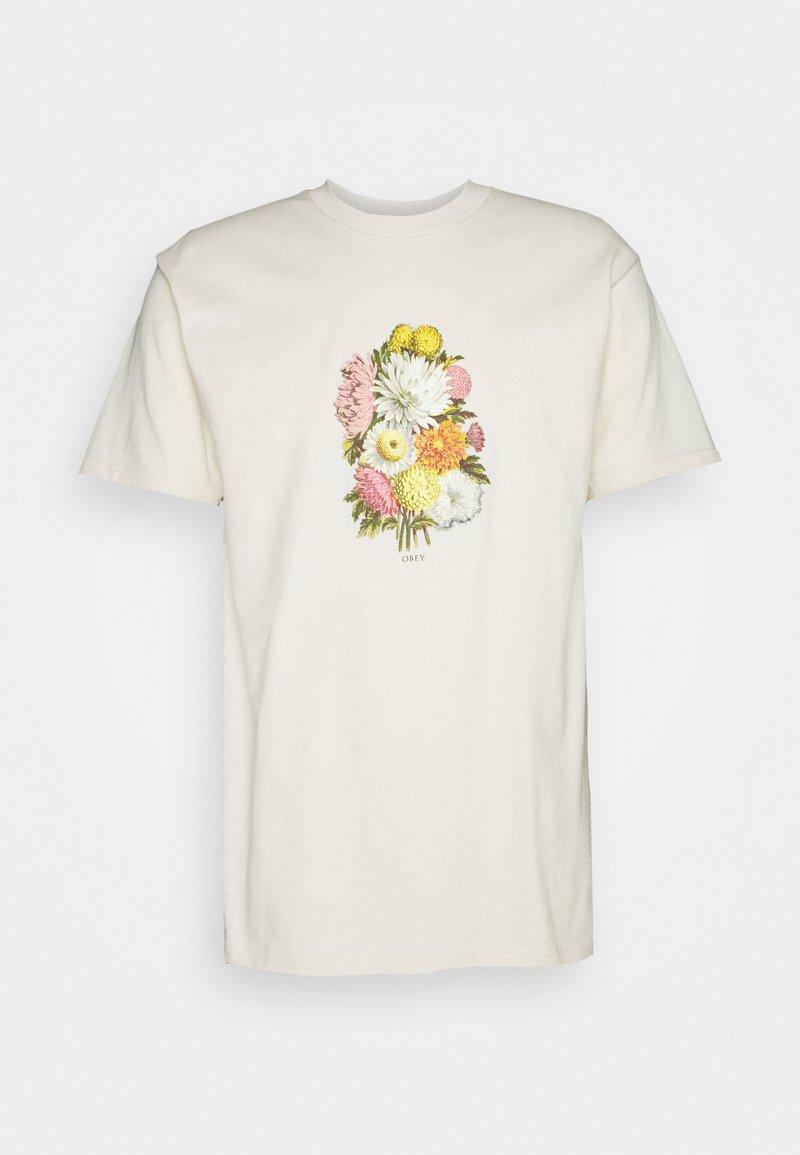 Obey Clothing - EARTH PROPAGANDIST - Print T-shirt - cream